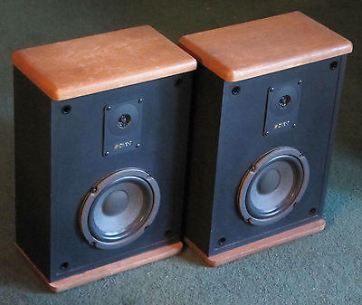 Vintage Sequentially Matched Advent Baby II Bookshelf Speakers