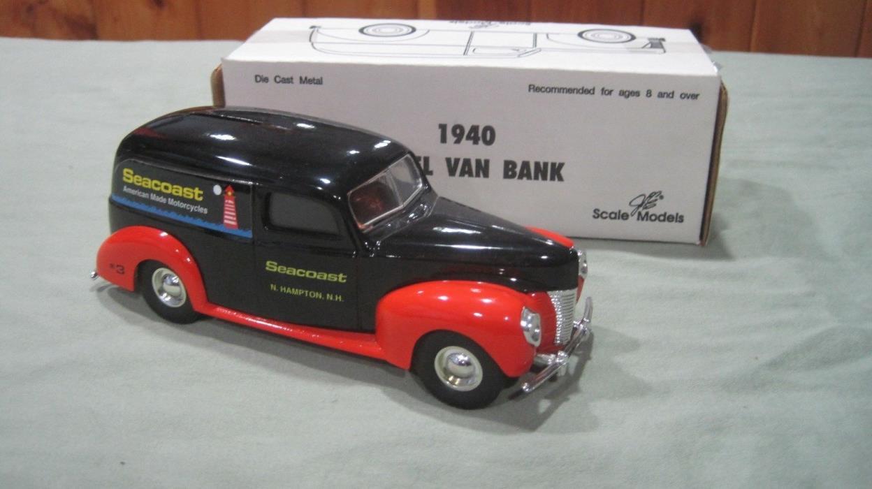 ERTL 1940 PANEL VAN BANK