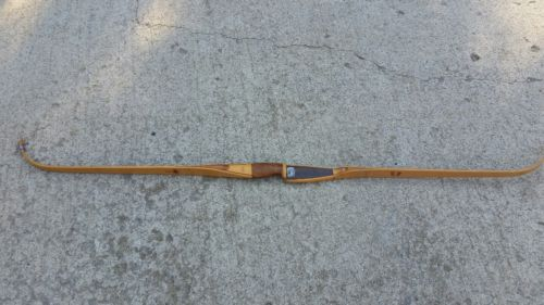Vintage 1953 Fred Bear Polar Bear  Recurve Bow Glass powered