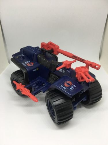 1985 GI Joe Ferret 4WD ATV 4Wheeler 100% Complete G.I. Cobra **Repaired**