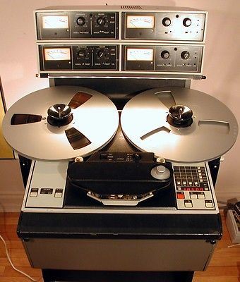 AMPEX ATR-104 102 100 Studio Tape Recorder Reel • 2 & 4 Track 1/2