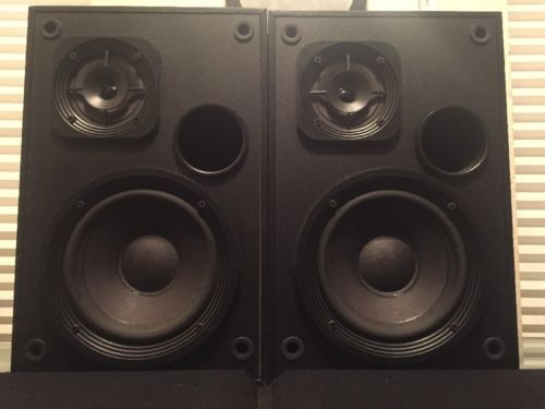 Vintage Bose Interaudio 2000 Bookshelf Speakers
