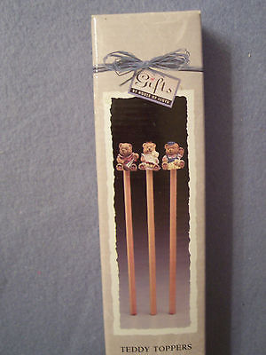 Teddy Bear Pencils - Teddy Toppers