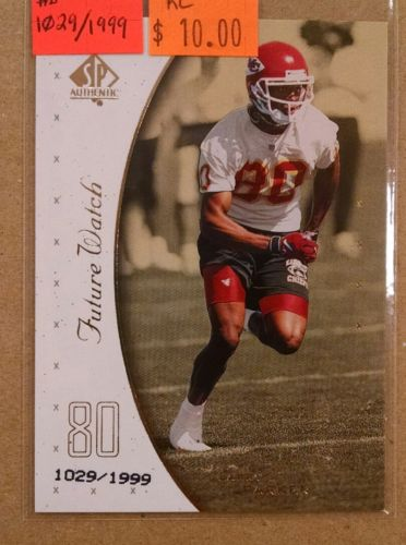 1999 SP AUTHENTIC #135 LARRY PARKER ROOKIE CARD