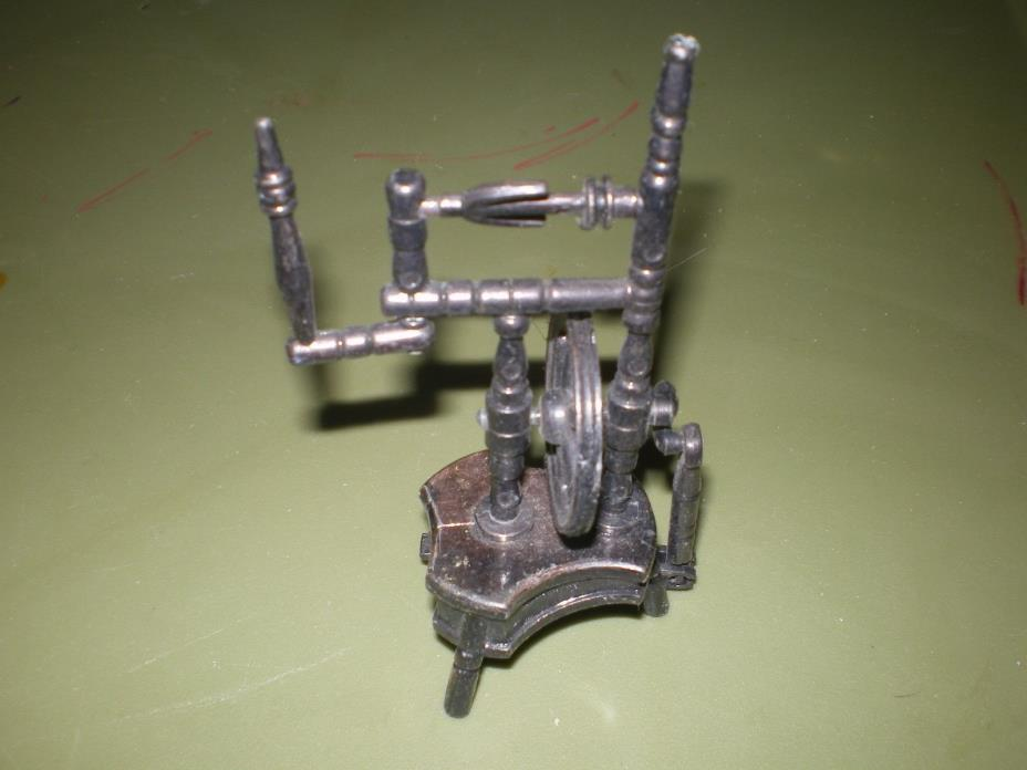 Decorative Pencil Sharpener/ Replica of an Old Spinning Wheel