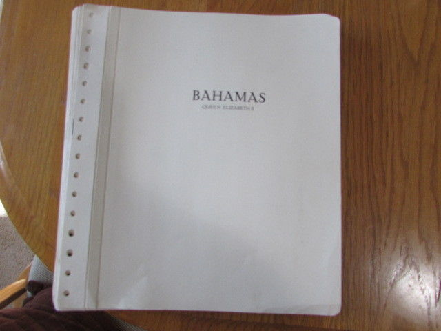 Ka-be Bahamas Stamp Album Pages Hingless Queen Elizabeth 1953-85