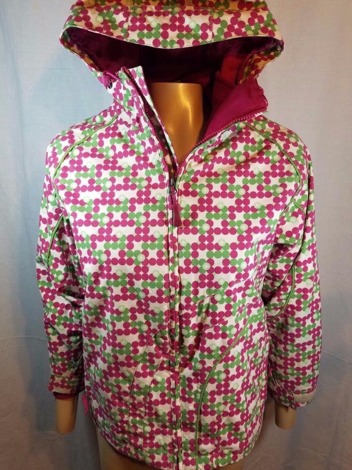 Burton Dry ride Ski Jacket System - Waterproof Girls Size Large Zip Out Lining