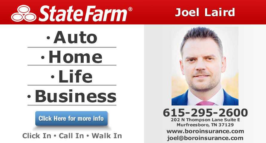 Joel Laird - State Farm Insurance Agent
