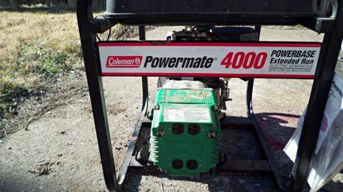 Coleman 4000 Watt Generator - For Sale Classifieds