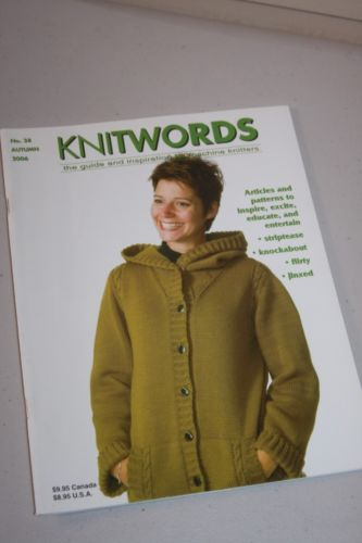 Knitwords Magazine Knitting Machine No. 38 Autumn 2006