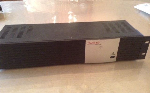 IMPACT Composit Video Stereo/Audio Distribution Amplifier 9 Output