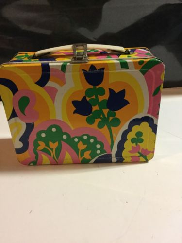 Tulips Metal Lunch Box