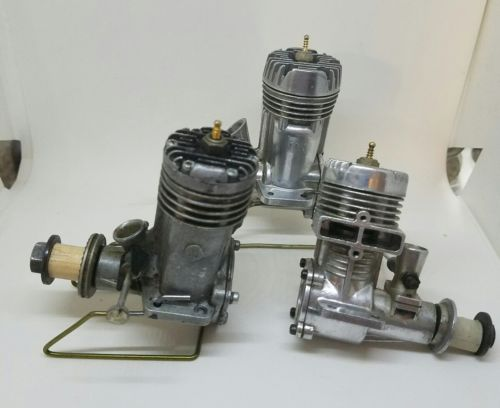 Vintage LOT of 3 fox control line engines