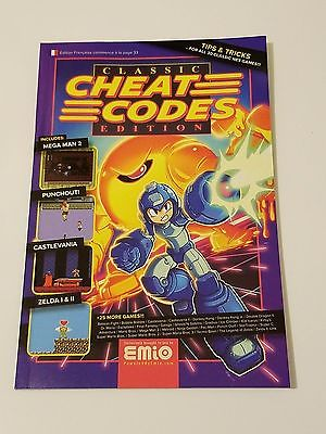 NES Classic Edition Mini Cheat Code Book