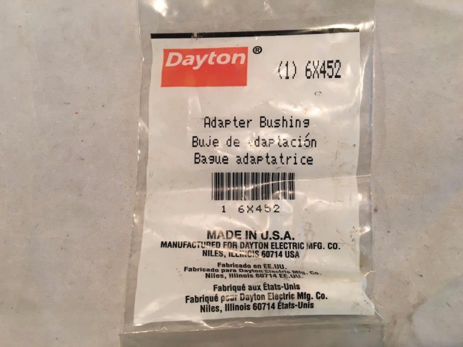 Dayton Adapter Bushing 6X452