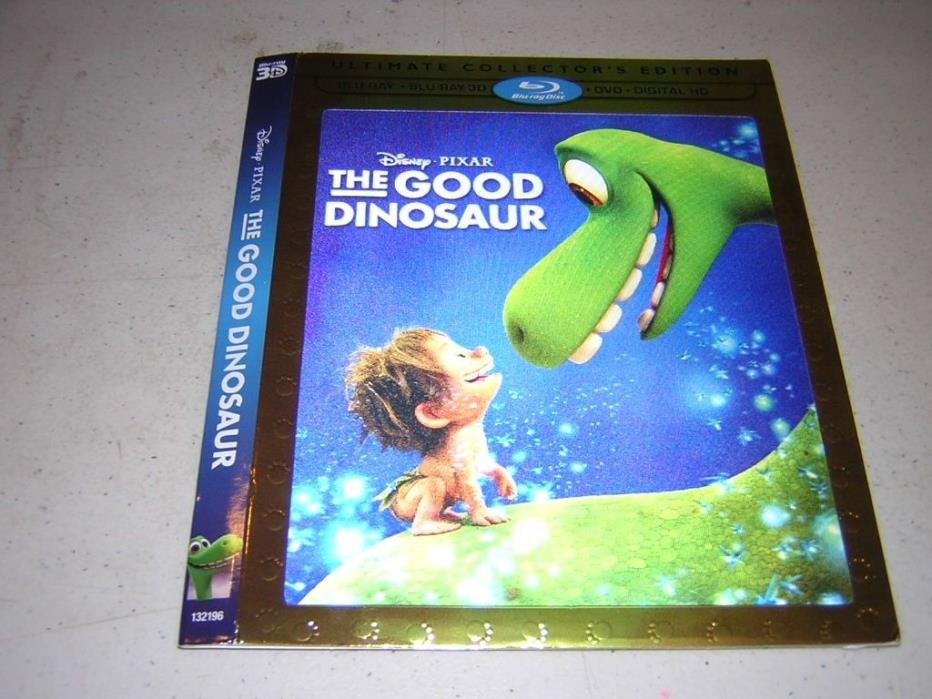 Pixar Disney Good Dinosaur Lenticular 3D SLIPCOVER ONLY - No movie disc