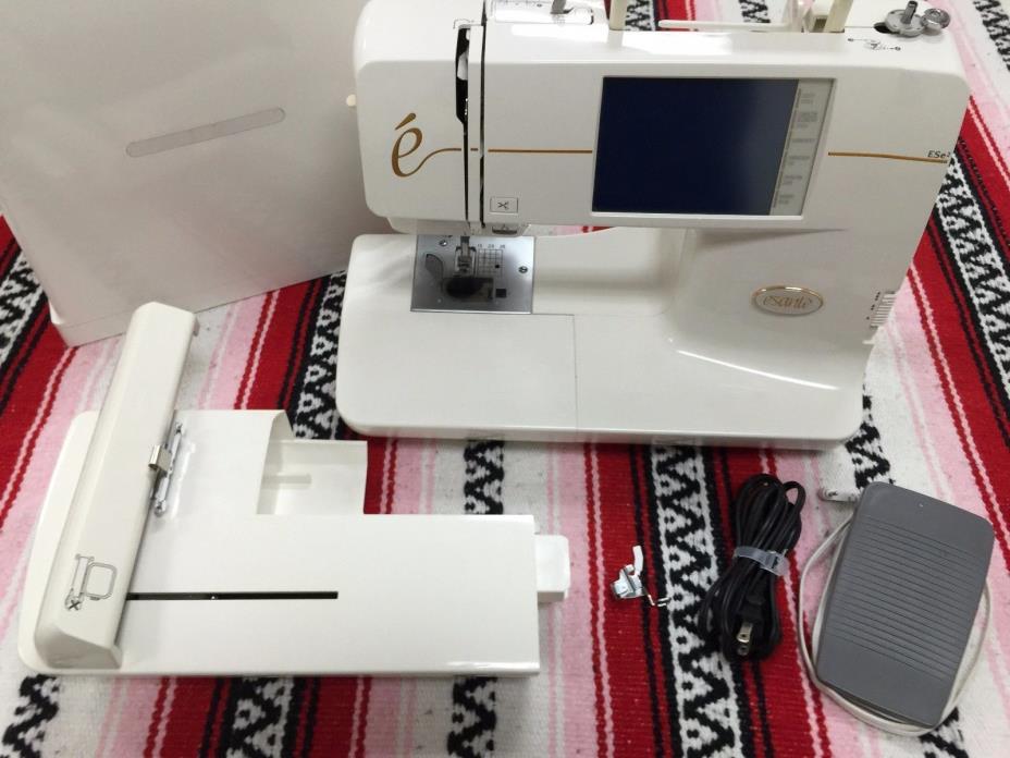 Babylock Esante Embroidery Machine ESE2 (Professionally Authorized Service)