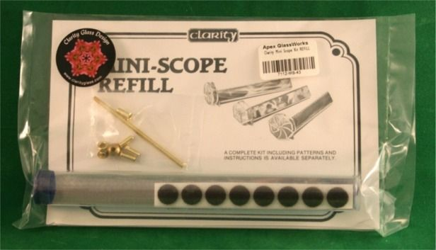 Clarity Kaleidoscope Mini-Scope Scope Kit - REFILL