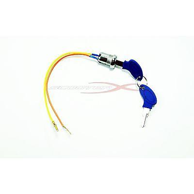 Ignition Key Switch 2 Wire Electric Scooter Razor 49CC 33cc 43cc 47cc Pit Bike