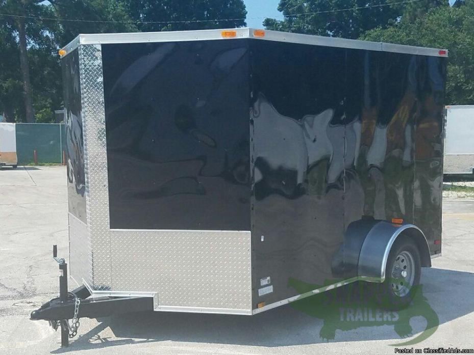 7ft. x10ft. Ramp NEW ENCLOSED TRAILER with Extra 3in. Height