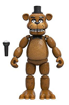 Action Toy Figures Funko Five Nights at Freddys Articulated Freddy Action 5