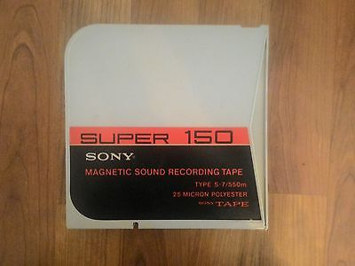SONY Super 150 reel to reel recording tape