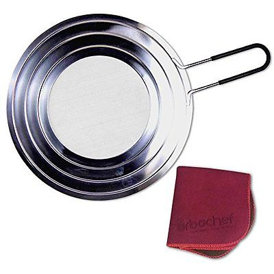 Splatter Screens UrbaChef Splatter Screen for Frying Pans and Pots - Premium - -