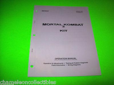 mortal kombat 2 arcade manual
