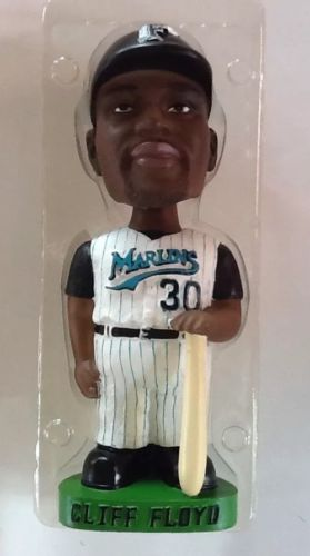 Genuine Hand Painted Bobble Head Doll_ Miami_Marlins_ Cliff Floyd (30)