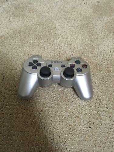 silver ps3 controller