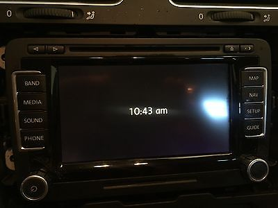 US Spec OEM RNS-510 VW Navigation Radio RNS510 with Code