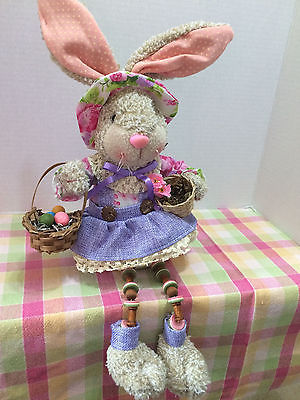 Easter Bunny  Decoration - Bunny with baskets - new