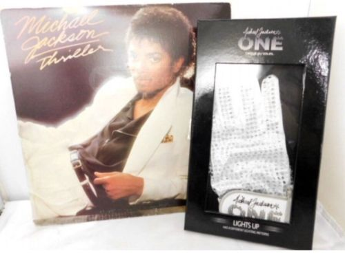 Michael Jackson LIGHT UP WHITE GLOVE Cirque Du Soleil One & Thriller Album