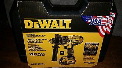 DeWALT DCD985M2 20V Li-Ion 1/2