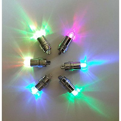 Indoor String Lights SumDirect 24/50/100 Pack Multicolor LED Submersible Mini