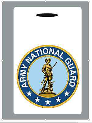 Custom National Guard Luggage Tag / Laptop / Backpack