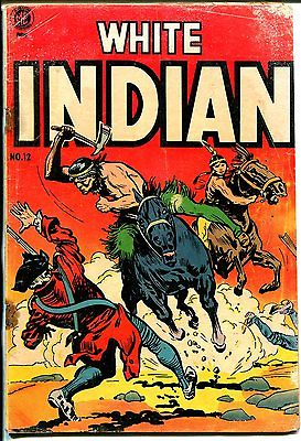 White Indian #12 1954-ME-Frank Frazetta-G