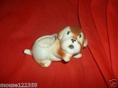 Scotty Dog Scottie Scotty or  Figurine  Planter vintage small