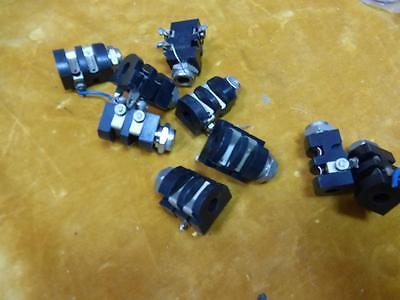 4 mono  1/4 inch jack sockets vintage valve amplifier guitar amp, by Rendar