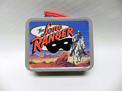 Small metal lunch box, Lone Ranger