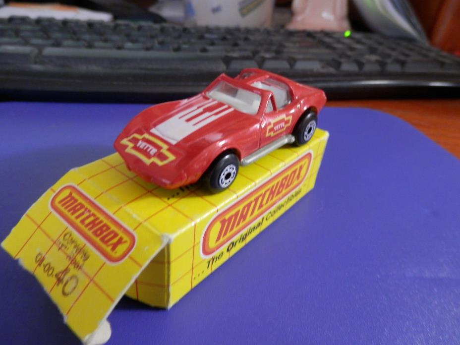 Matchbox  #40 or #58 Corvette