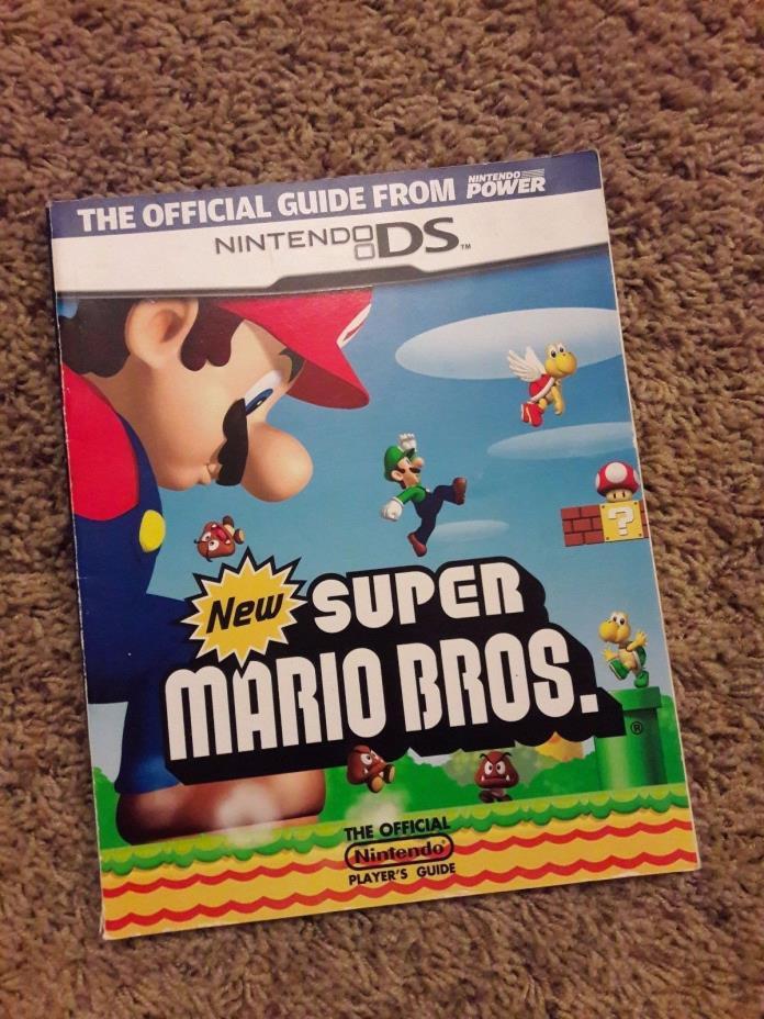 Super Mario Bros. Nintendo DS Power Stragegy Player's Guide