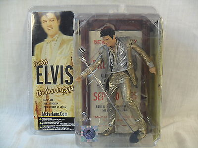 1956 Elvis The Year in Gold Figurine/Figure/Statue - Unopened