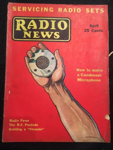 Vintage Radio News Magazine from April 1932