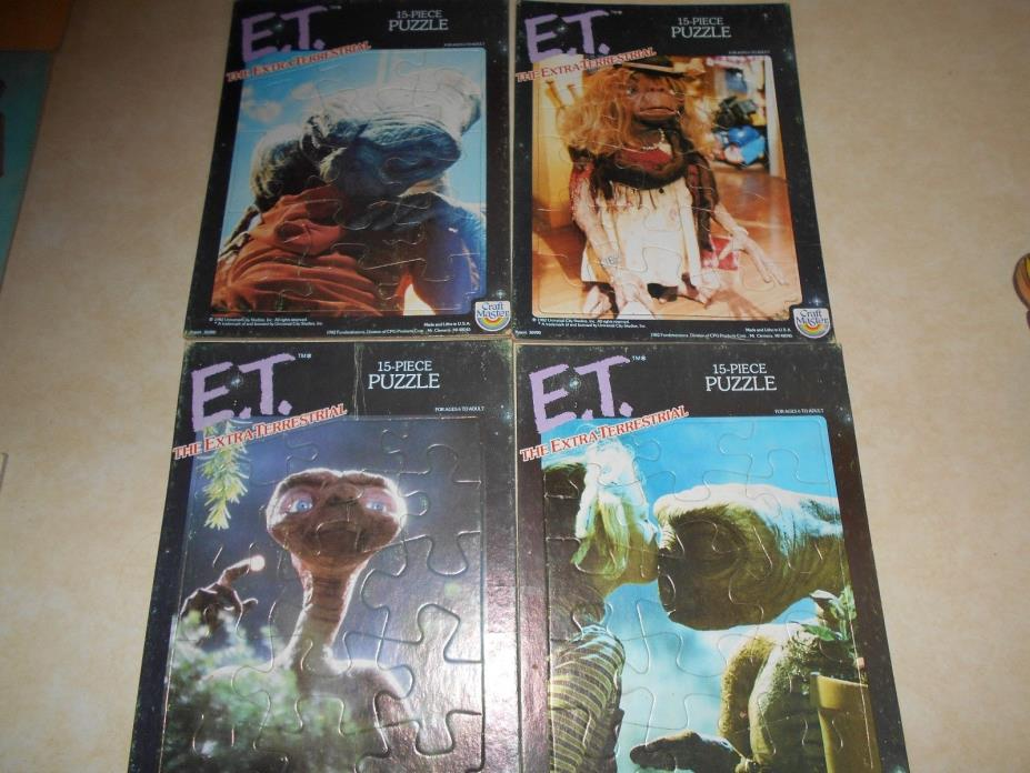 4 1982C E T PUZZLES BY CRAFT MASTER