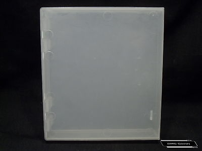 Clear Nintendo NES Game Clamshell Hard Case Dust Cover! Guaranteed!