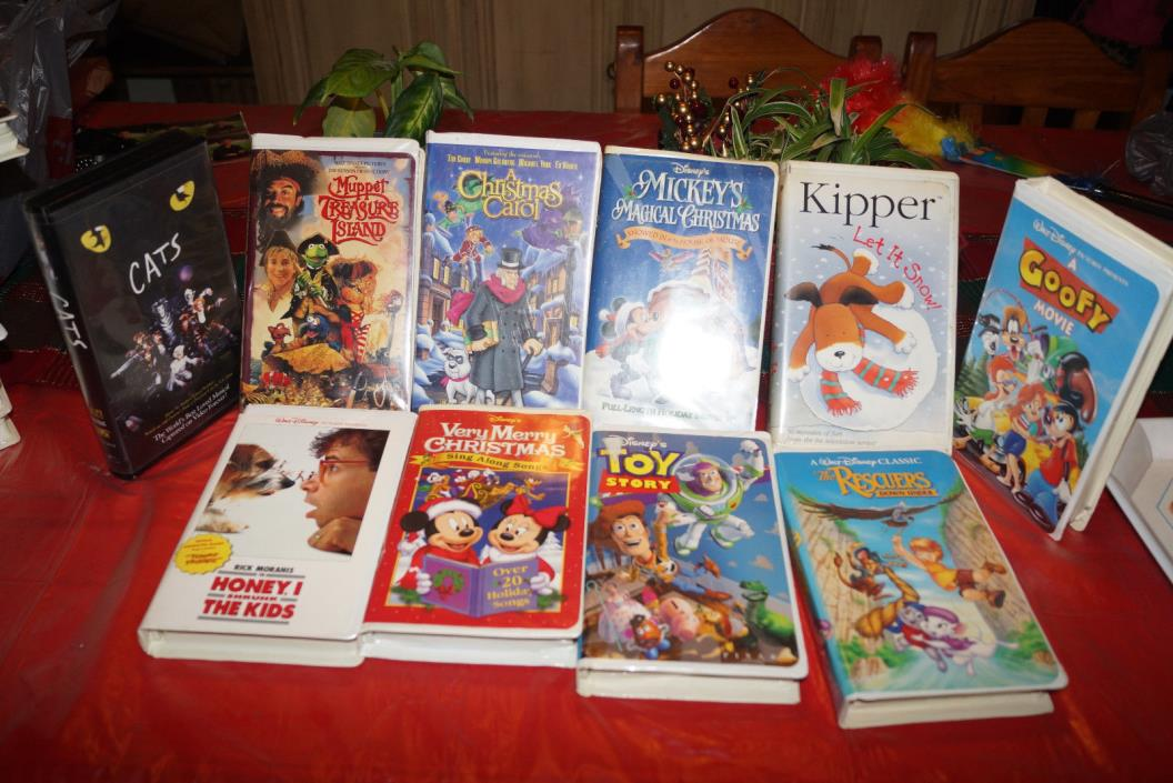 Disney Sing Along Songs Very Merry Christmas Songs 2002.Disney Sing Along Songs Vhs Lot For Sale Classifieds