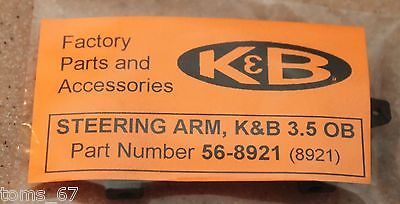 K&B Outboard  Steering Arm 56-8921 New  (  RC Boat ) 3.5
