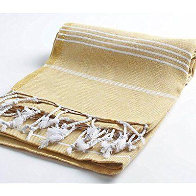 Throws Cacala Pestemal Turkish Bath Towels 37x70 %100 Cotton Camel