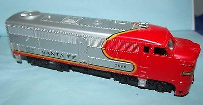 Vintage Lionel Train Santa Fe 0565 Diesel Locomotive